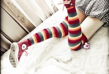 Rainbow Socks / by Pantyhose Party