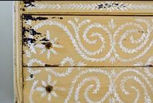 Furniture Inspiration / Painted, distressed, shabby chic, waxed, solid colour, chalk paint, eggshell, gloss. / by The Junk Dolly