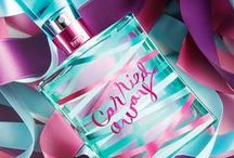 Carried Away® / Get Carried Away®! Inspired by the way true love sweeps you off your feet, it's a head-over-heels blend of raspberries, jasmine & whipped vanilla. / by Bath & Body Works
