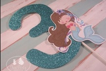 Mermaid Party Ideas / by Tea Party Designs
