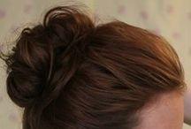 Cute Hair Styles / by Stephanie @ The Cozy Old Farmhouse