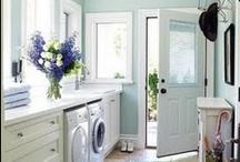 Dream House Ideas - Laundry Room / by Stephanie @ The Cozy Old Farmhouse
