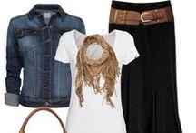 Cute Modest Outfit Ideas / by Stephanie @ The Cozy Old Farmhouse