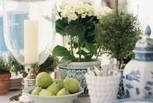 Tablesettings & Centerpieces / by Lynn H. Mosher