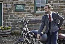 Bikes,Boards & Beats / This Years Menswear 'Live it up' AW14 collection underpins the Joe Browns 'love life' attitude, with something to fit every man's needs, combining all the best things in life! Full of Inspiration from Bikes, boards and beats / by Joe Browns