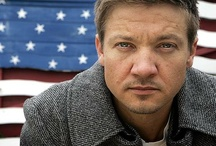 "Jeremy Renner / So, because he's so perfect he gets his own board. My ""list of men"" will get their own separate board.