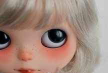 Inspiration for Blythe Dolls / I want to make one custom Blythe doll for each of my girls and well one for me too cause we all know I'm a big kid at heart / by Shala Neufeld