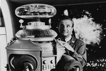 "Robots, Vintage Robots / Robots, Vintage Robots / by Theresa ""Tess"" Engelhardt"