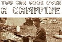 "Campers, Camp ideas, Camp Recipes, Glamping / Camper types, Vintage Campers, Camping Tips, Camping Ideas, Glamping, Camp Recipes / by Theresa ""Tess"" Engelhardt"