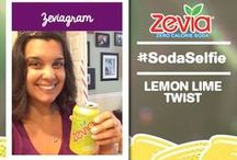 #SodaSelfie / Our Flavorites of the week with the winning #SodaSelfie from our most devoted fans!  / by Zevia Zero Calorie Soda