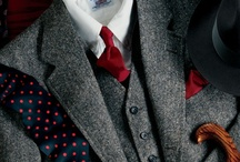 Style: charcoal suit / by Jack Horner