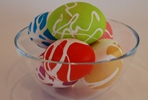 Easter Eggs  / Easter egg diffrent way to decorate, dye,  and display / by Sherry Aikens