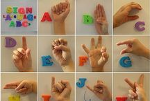 sign language / by Terria Ashby