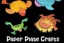 Paper plates! / Early education crafts & activities with paper plates! / by Terria Ashby