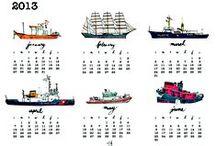 Calendar Time / by Diana Glennie