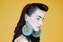 earrings / by didem saner sumay