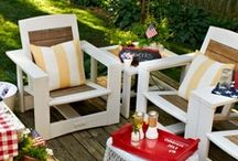 Amazing Outdoor Ideas / The outside of your home should look just as good as the inside! From your front porch to your backyard deck or patio, here are some fun ways to spruce up your outdoor living area. / by My Home My Style