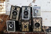 Vintage/Old Cameras / by Donna Orr