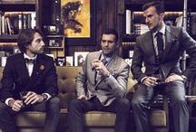 The Gentleman's Club / Men's clothing and accessories. / by Antoine Devon Swans