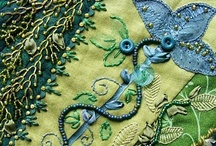 Apparel and Textiles / scarves, wearable art, poncho, jacket, scarf, fiber art / by Jodie Apeseche @ Art-Jam.net