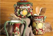 Kitchen CANISTERS / by Elaine