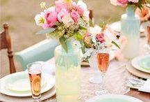 Table Settings / by The Beehive Cottage ~ Maryjane
