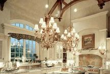 Kitchen Inspiration / Beautiful kitchens I want in my dream home one day. / by Ashley Frederickson