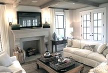 Family Room / Family Room Inspiration / by Ashley Frederickson