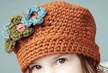 Crochet - Hats / by Kathy Rideout