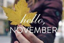 November. / by Walls Need Love