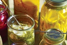 """Canning Recipes / """"To 'put by' is an early nineteenth century way of saying to """"save something you don't have to use now, against the time when you'll need it."""" You still hear it today from old-time country people, and applied to food it is prudence and involvement and a return to the old simplicities.""""  ~ Janet Greene """"Putting Food By""""  / by spectrumdaze"""