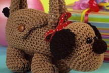 Crochet: Bags II / Whimsical bags and crocheted backpacks, purses, and bags for kids. / by Polly Wickstrom