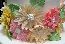 """Cake Decor ~ Florals 2 / """"Let us dance in the sun, wearing wild flowers in our hair.....""""  ~ Susan Polis Shutz / by spectrumdaze"""