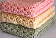 Crochet: Dishcloths/Dish Towels / by Polly Wickstrom