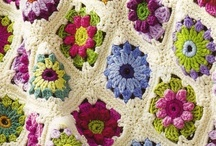 Crochet: Afghans / 100 beautiful crocheted afghans. / by Polly Wickstrom