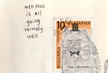 snail mail surprise. / by Rachel Stepp