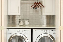 Spaces : Laundry / by Sarah / Our Little Place