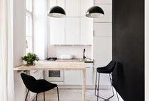 KLEUR ✽ Zwart-Wit Interieur   Black-White Interior / Doe kleurinspiratie in de kleurcombinatie zwart-wit op voordat je je huis gaat veranderen. Als kleurstylist, kleuradviseur en kleurspecialist help ik je graag met kleuradvies op maat. Kijk voor meer kleurinspiratie voor je interieur op www.stijlidee.nl en vraag vrijblijvend een offerte aan via info@stijlidee.nl  / by STIJLIDEE Interieuradvies en Styling