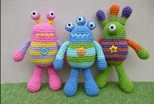 Crochet: Monsters / by Polly Wickstrom