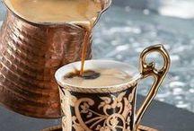 Coffeeeeeeee / I have measured out my life with coffee spoons. -T.S. Elliot / by Karen Kelly