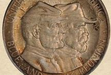 Commemoratives and Pins / by Gerald Holt