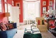 KLEUR ✽ Koraalrood Interieur   Coral Red Interior / Doe kleurinspiratie in de kleurkoraal op voordat je je huis gaat veranderen. Als kleurstylist, kleuradviseur en kleurspecialist help ik je graag met kleuradvies op maat. Kijk voor meer kleurinspiratie voor je interieur op www.stijlidee.nl en vraag vrijblijvend een offerte aan via info@stijlidee.nl  / by STIJLIDEE Interieuradvies en Styling