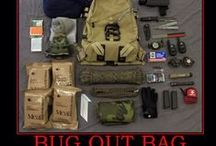 Bug out bag / by Wendell Hawkins