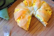 Wakey, wakey! Eggs and bac-y! / by Rachel @ Like a Saturday