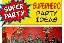 Superheroes / Party Ideas, Supplies Info / by La Wanda Rice-Chery