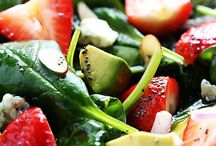 Salads & Sandwhiches / ~Yumbo Lunch-time (or dinner-time)~ / by Chari Honey