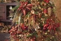 Let the Christmas Celebration begin / Christmas decorating ideas for mantles, tablescapes   / by Lisa Safford