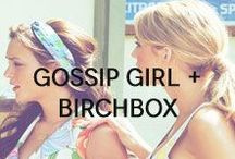 Gossip Girl + Birchbox / It doesn't get much better than Blair's headbands and Serena's mini-dresses. From uptown glamour to downtown chic, the guys and girls of Gossip Girl have style and beauty nailed.  / by Birchbox