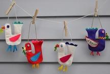 Crafts - Felt / by Carla Chagas