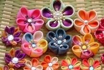 Crafts - Handmade Flowers / by Carla Chagas